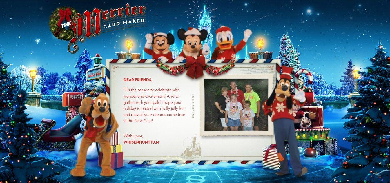 Disneyland family christmas card disneyland resort general disneyland family christmas card kristyandbryce Choice Image