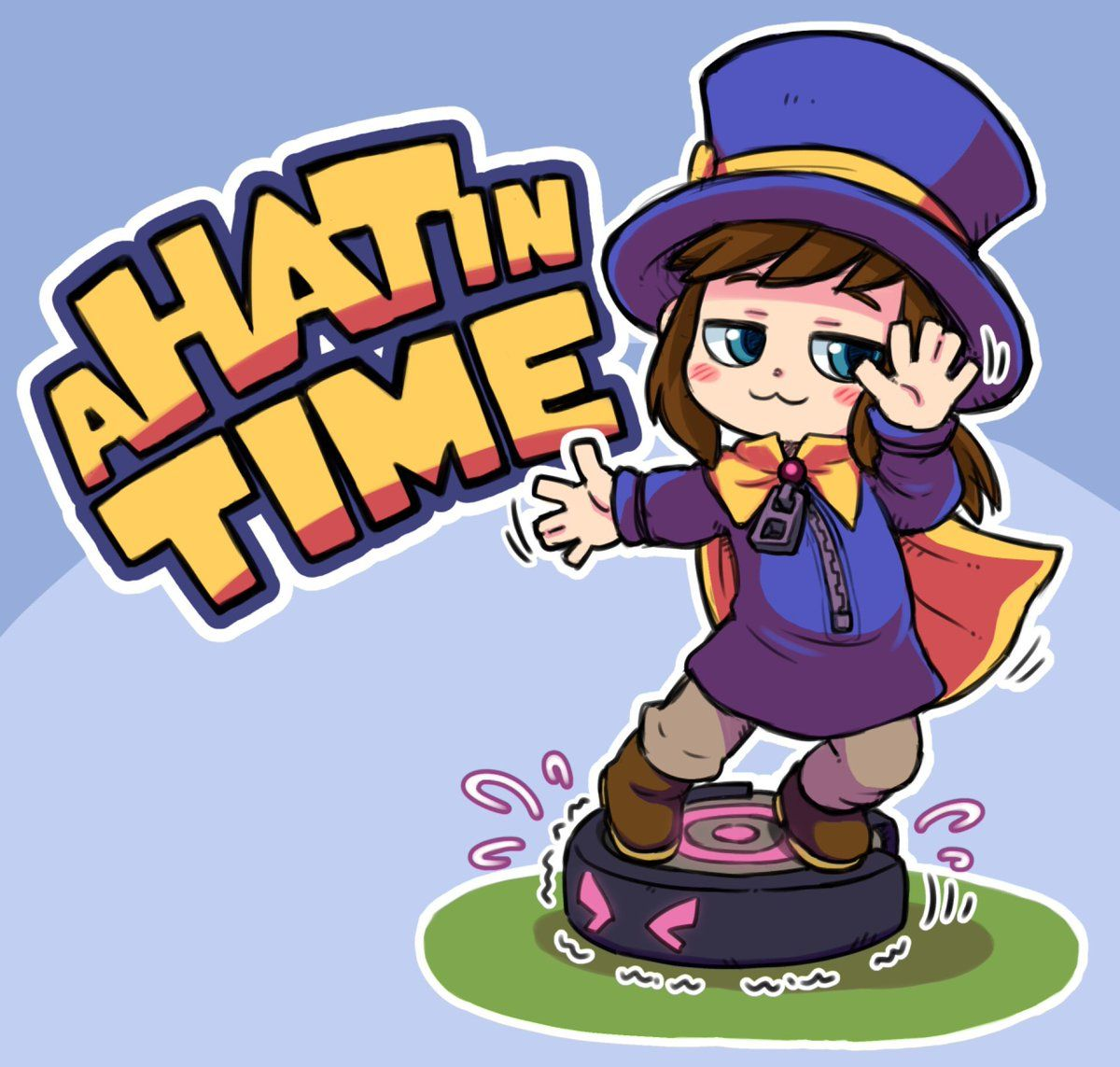 Smug Dancing All Day A Hat In Time Hat In Time Art Hat In Time