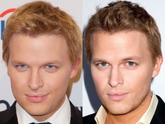 Ronan Farrow's Blue Eyes May Be Thanks To Contact Lenses | Celebrity
