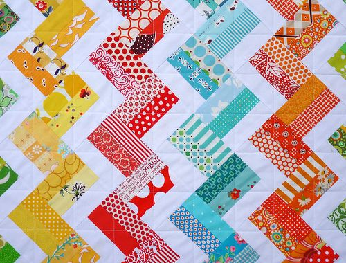 Red Pepper Quilts: Zig Zag Rail Fence Quilt and New Quilt Pattern ... : zig zag quilt patterns - Adamdwight.com