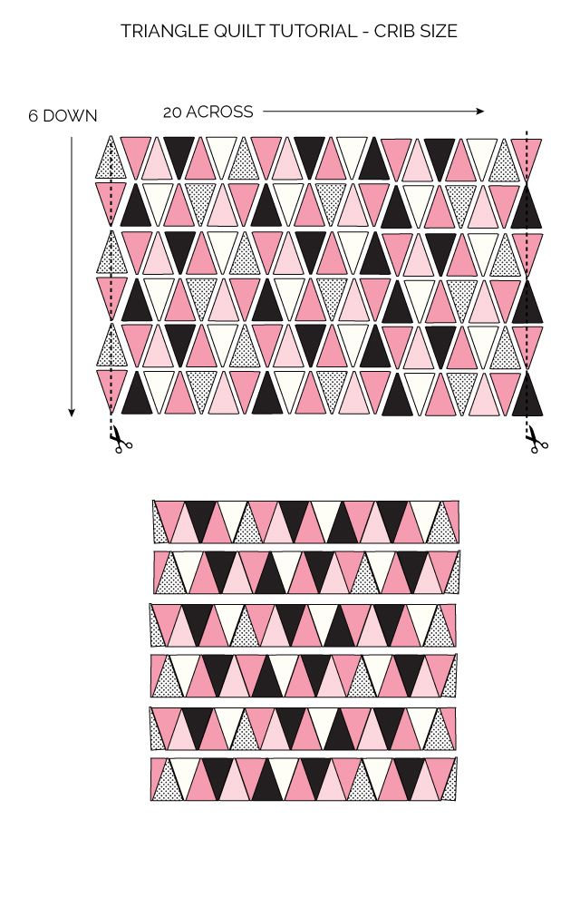 Triangle Quilt Pattern Update: How to get Sharp Triangles | Quilting ...