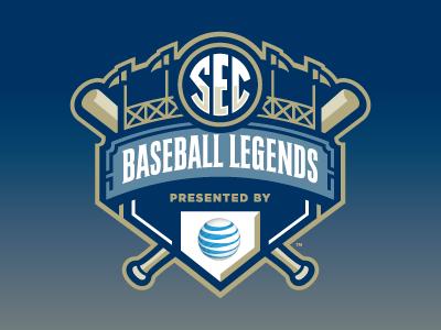 Sec Baseball Legends Cool Logo Sports Logo Design Sports Team Logos