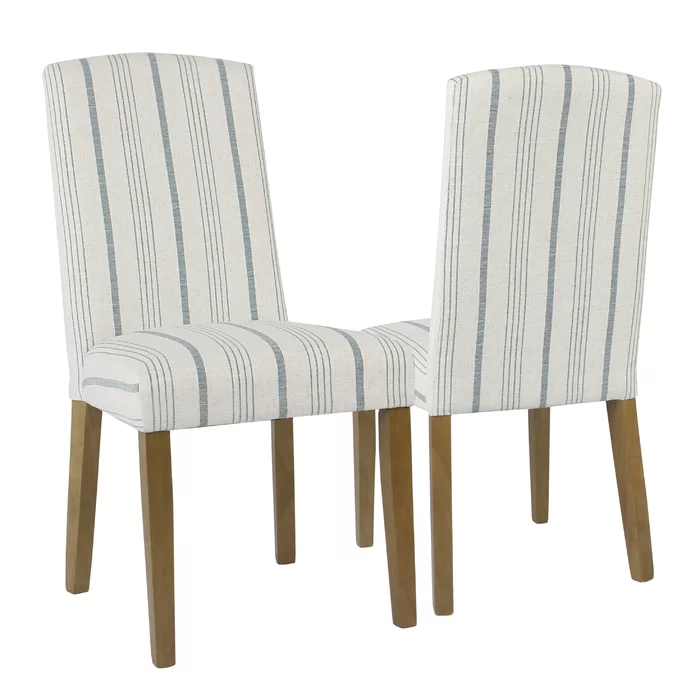 Lake Kathryn Stripe Upholstered Dining Chair Home Decor In 2019