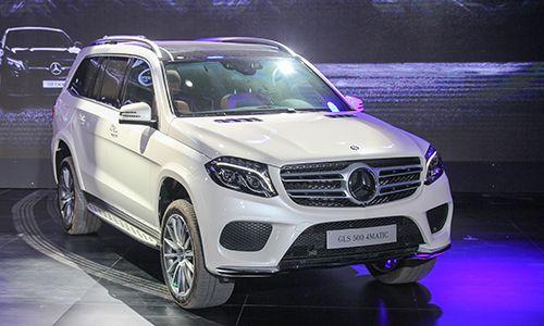 Gía Xe Mercedes S400 - 0945 777 077: Mercedes GLS ra mắt khách Việt giá từ 3,9 tỷ đồng