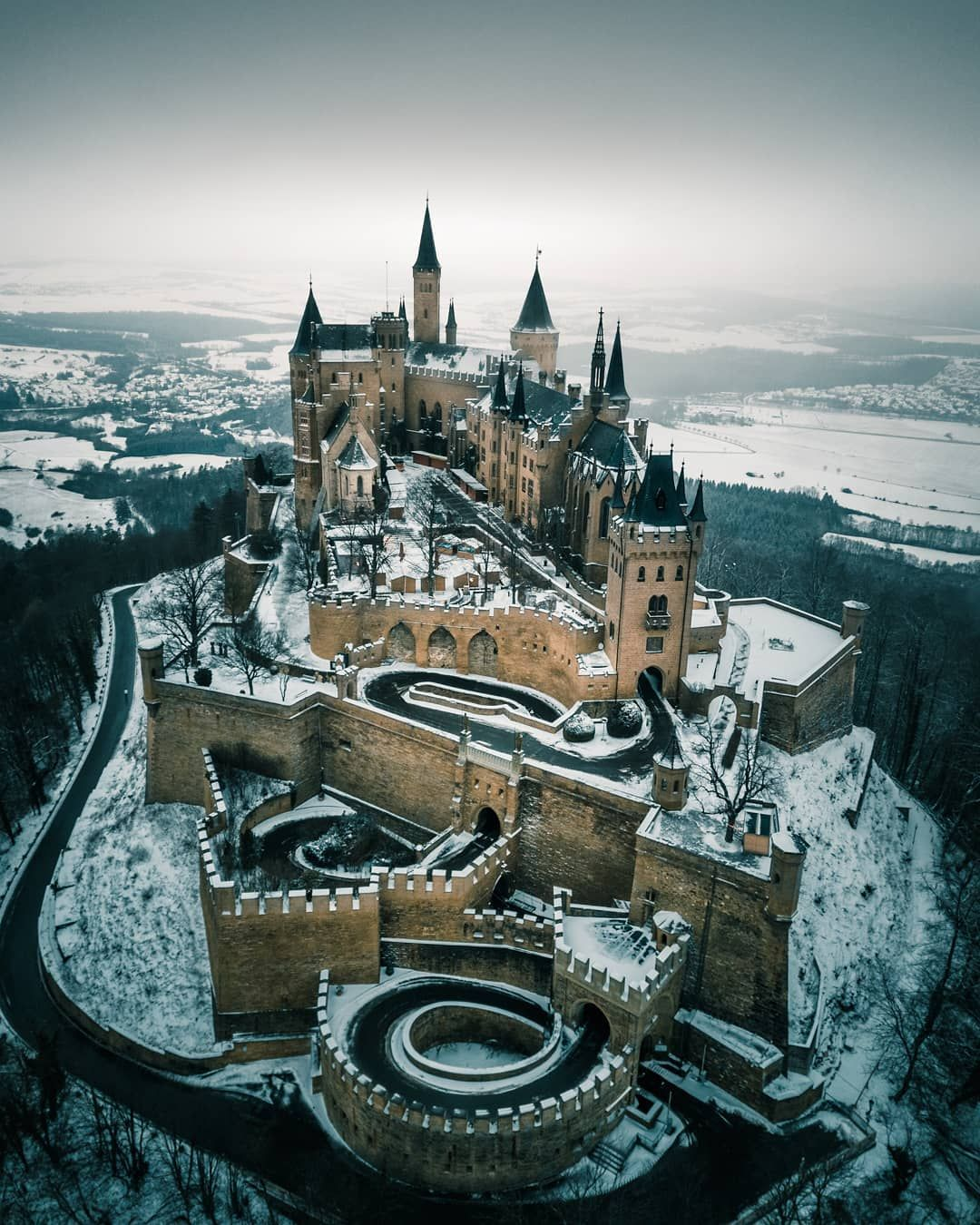 Burg Hohenzollern By Giuliogroebert Germany Castles Castle