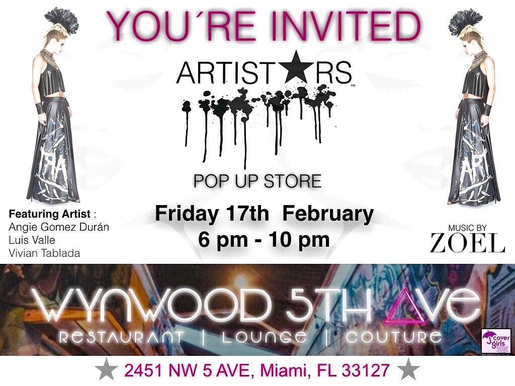 Evento de arte y moda  Artist star
