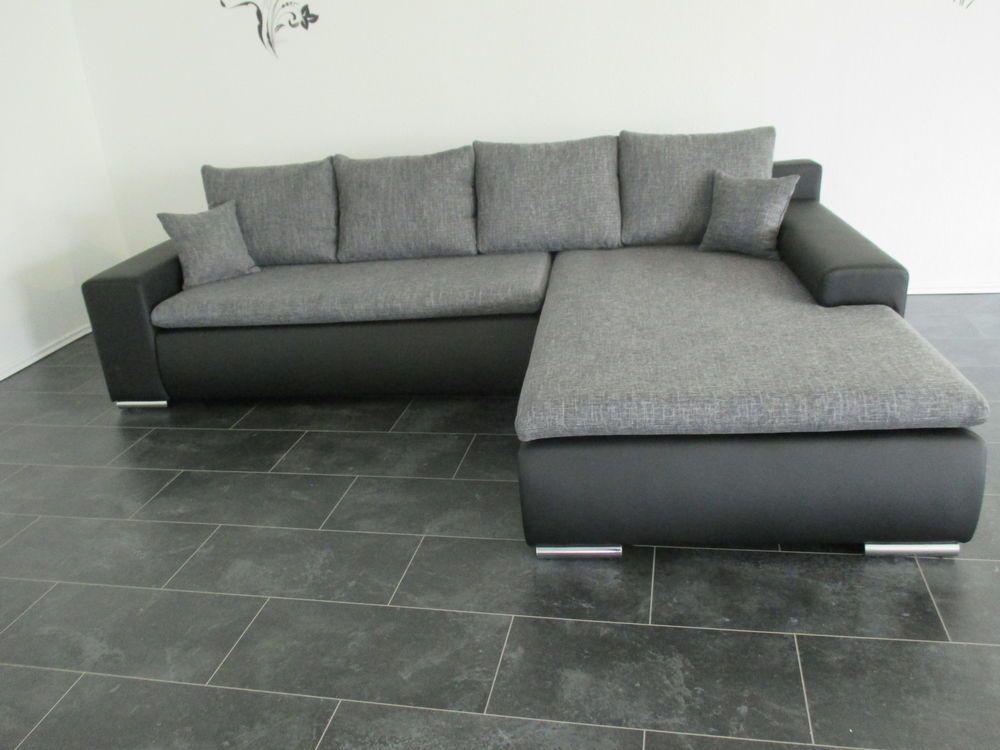 Aktion neu sofa couch wohnlandschaft korpus lederimitat for Lagerverkauf couch