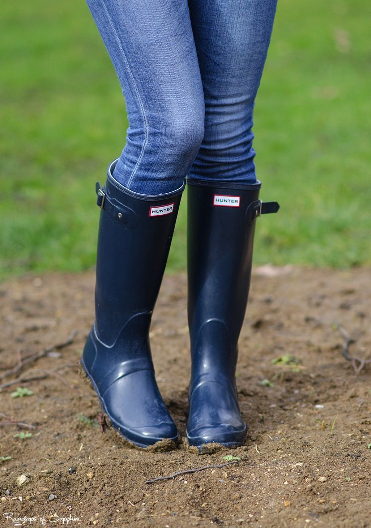 d1b5817b804 hunter-original-tall-glose-wellies-boots-navy | Rain Boots | Wellies ...