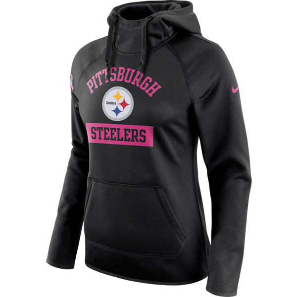 Picture of Pittsburgh Steelers Nike Women s Breast Cancer Awareness (BCA)  Circuit Fleece Hoodie 13c0e2bbd