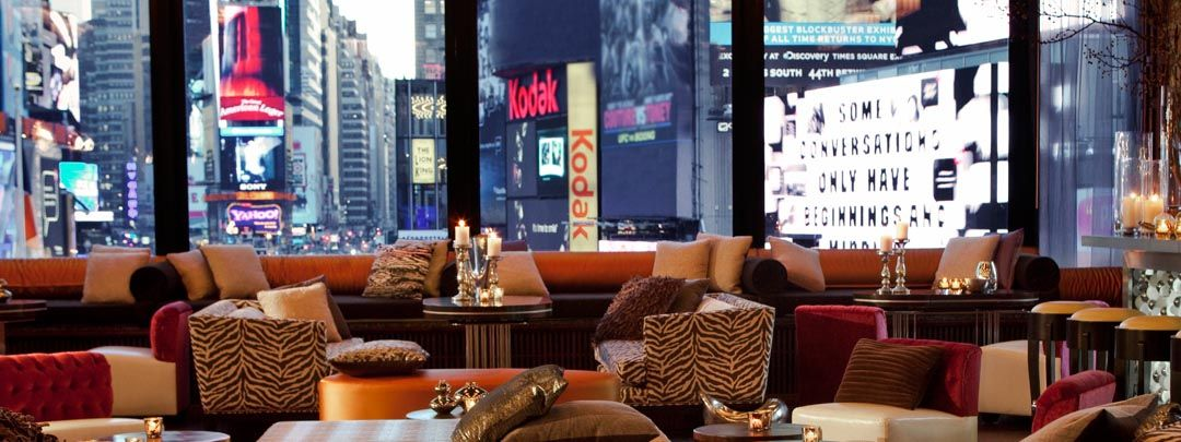 R Lounge Restaurant At Times Square Nyc