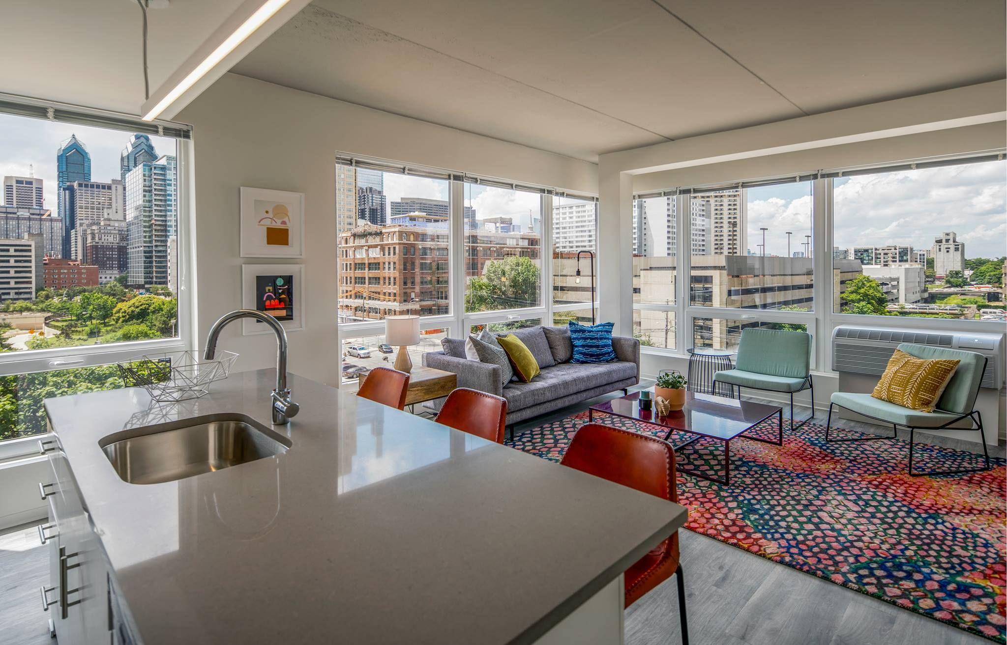The Hamilton Apartments Philadelphia Pa Ava Smpl Spartansurfaces Floorscore Lvt Interiord Multifamily Housing Residential Design Luxury Apartments