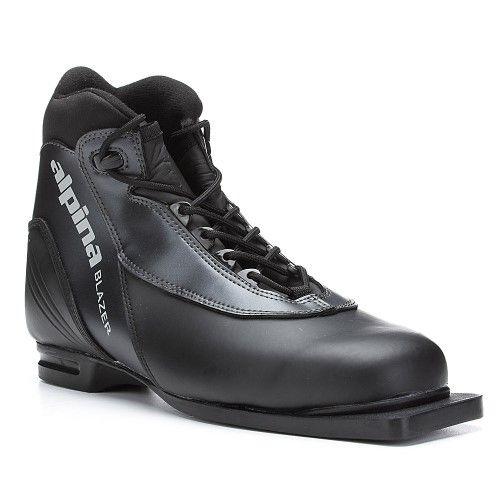 Alpina Blazer 75mm Cross Country Ski Boots 36/Black NEW