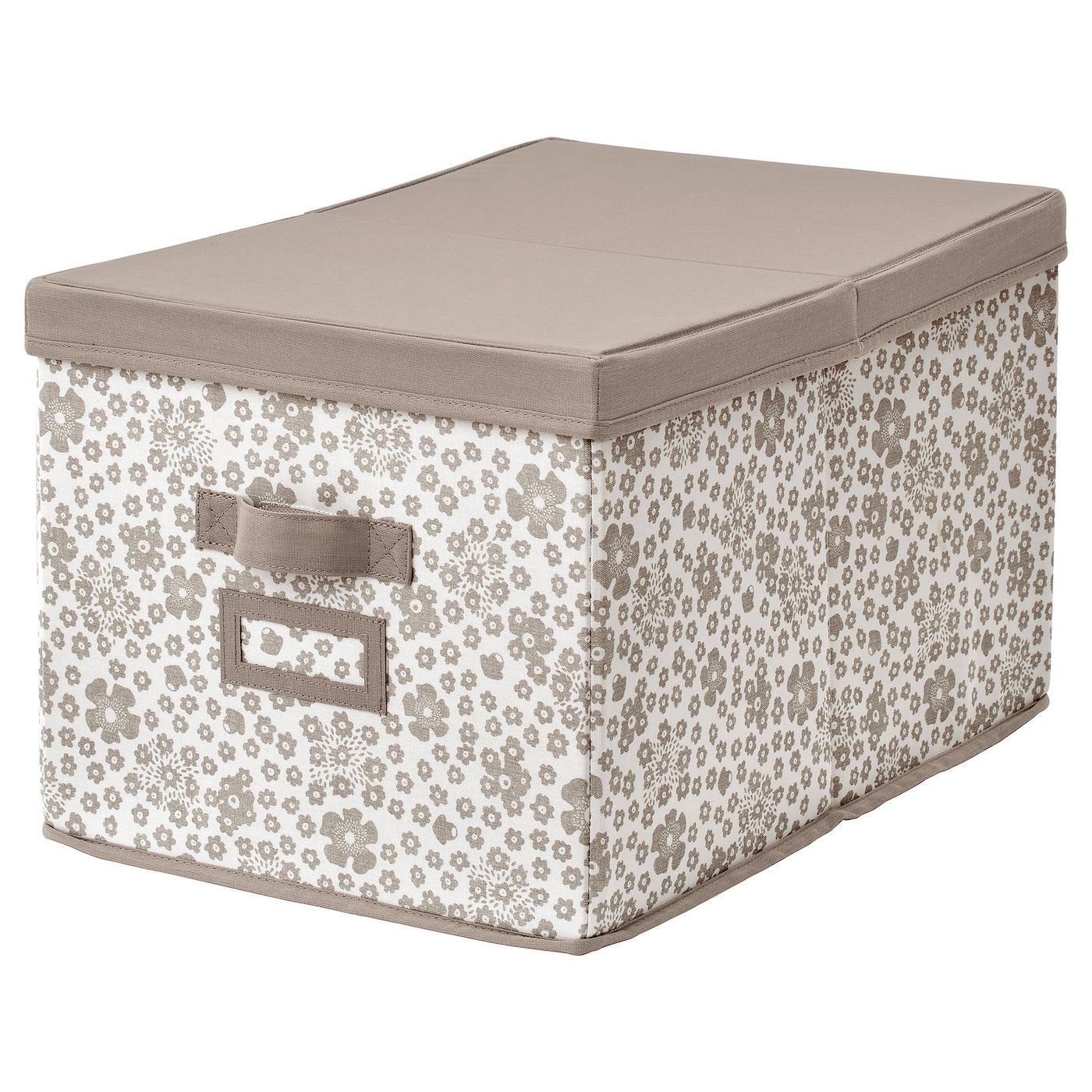 Storbe Box With Lid Beige 13 ¾x19