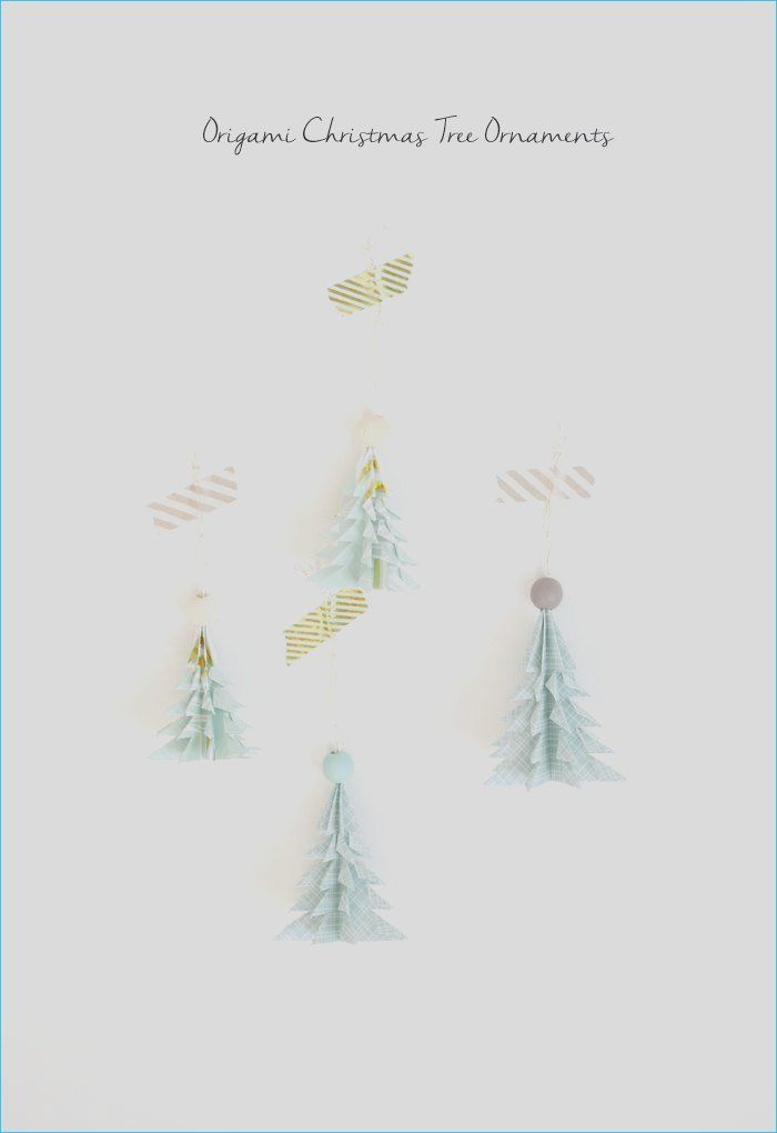 Photo of 14 Diy origami Christmas Tree ornament for Warmer Christmas evening