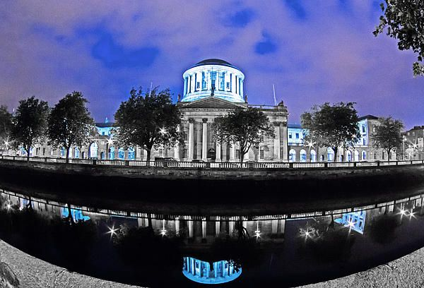 The Four Courts 5 - Dublin Ireland Painting