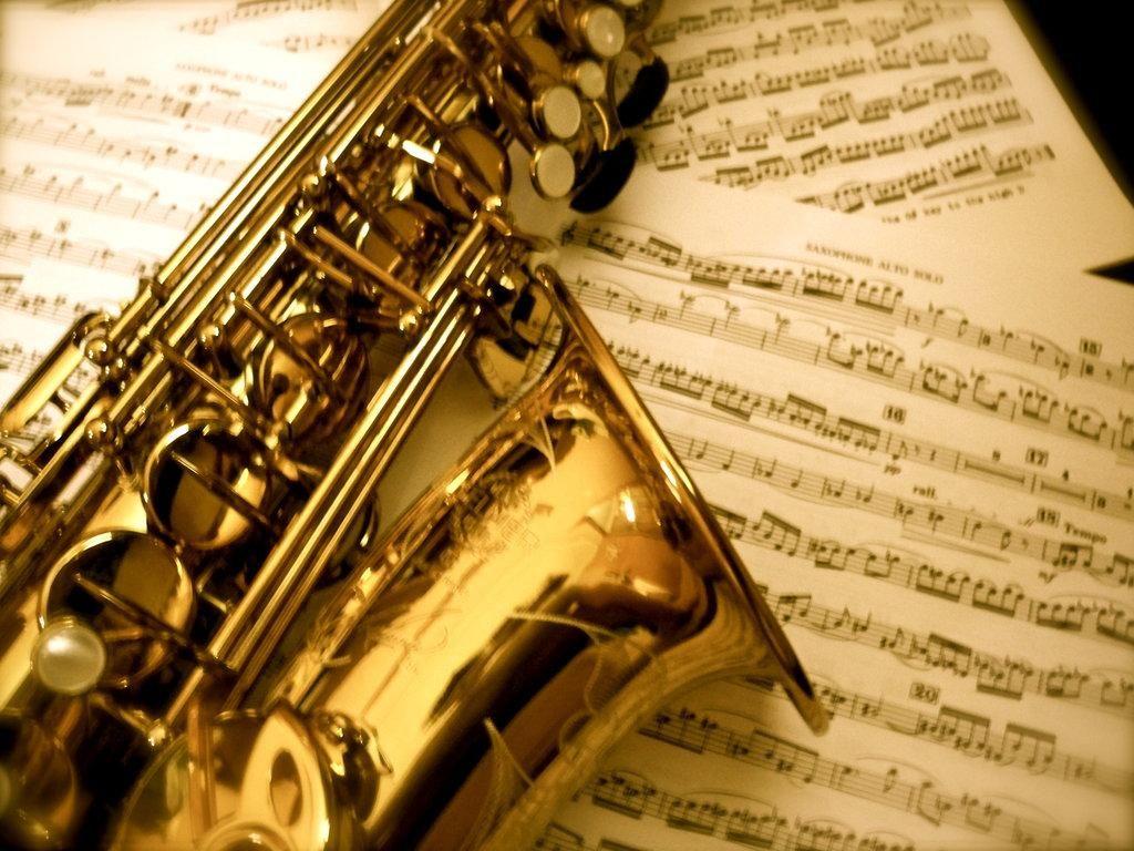 Обои saxophone, музыка, street. Музыка foto 15