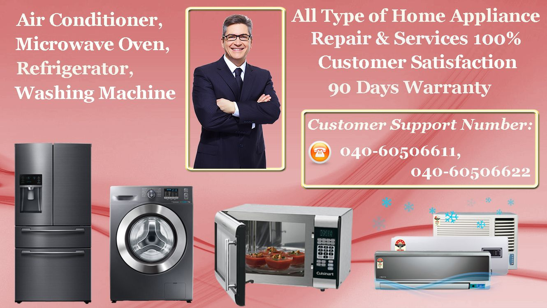 Whirlpool Refrigerator Service Centre in Hyderabad LG