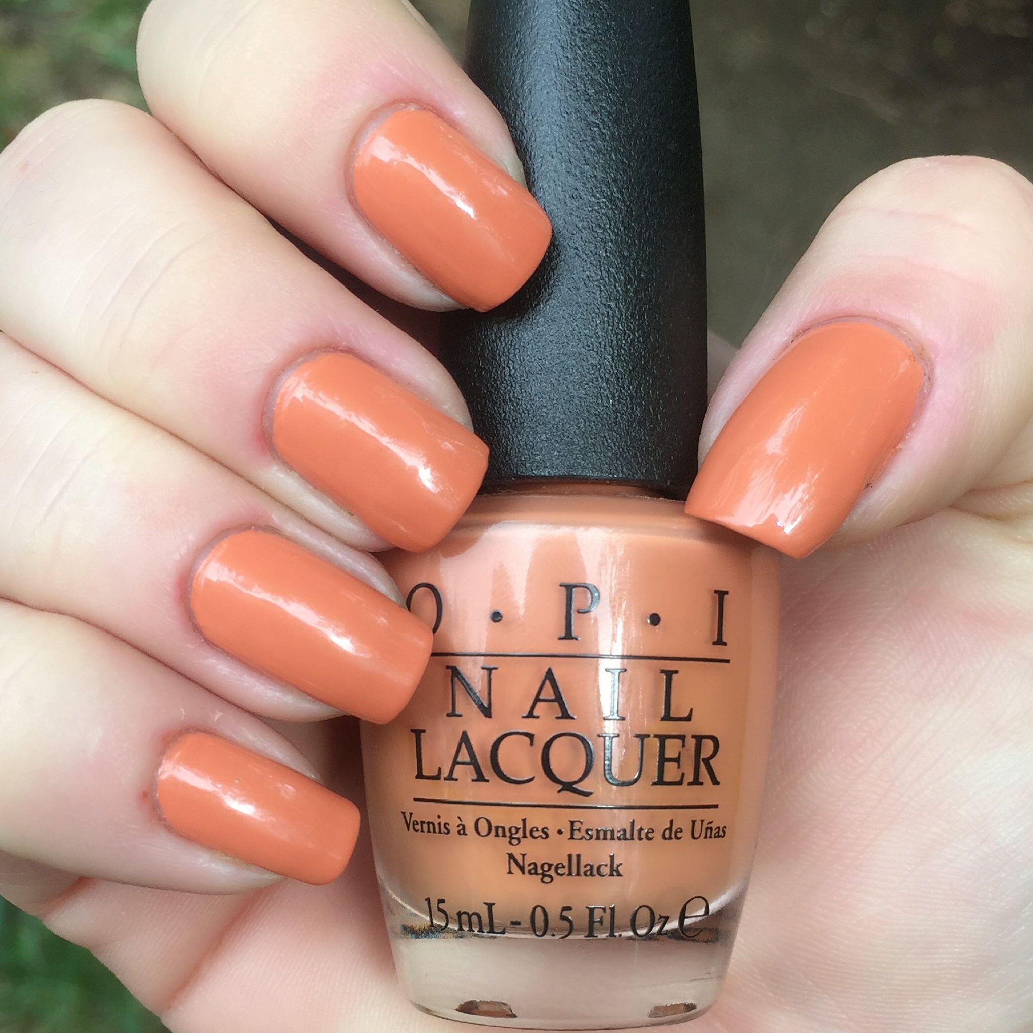 Opi Freedom Of Peach Nails Nailswatch Nailpolishaddict Nailpolishcollection Opi Opifreedomofpeach Opi Gel Opi Gelcolor Gel Color