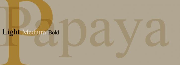 Papaya font download
