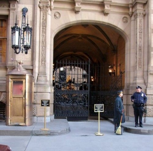 The Dakota Building, NYC where John Lennon was shot