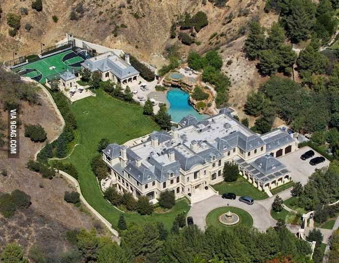Paul Wahlbergs Hus i USA