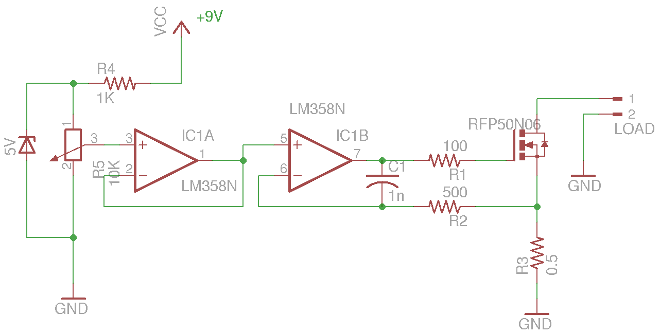 Constant Current Dummy Load Eletrnica Pinterest Hdd Voltage Regulator Equivalent Circuit Analogcircuit Basiccircuit