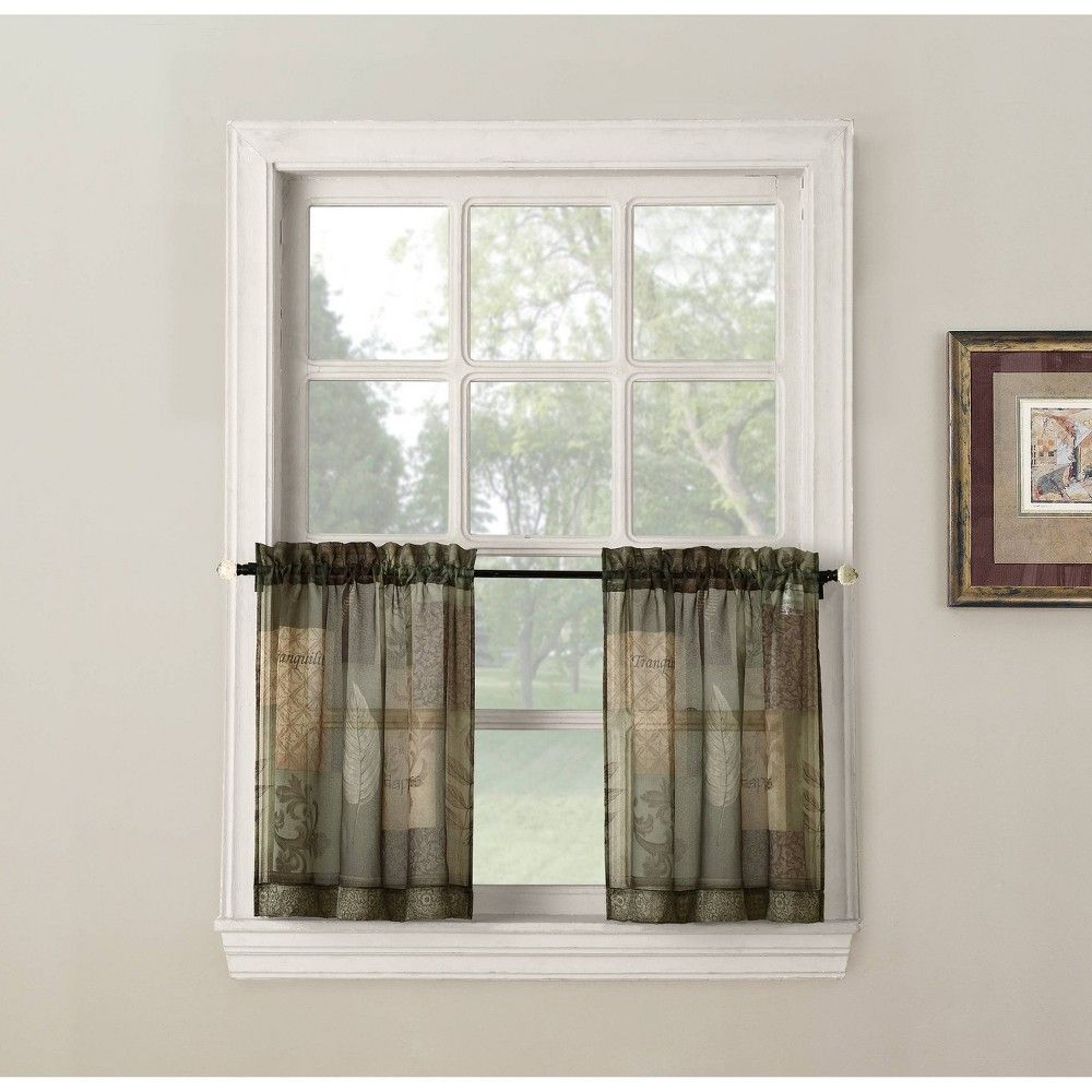 5 Best Tier Curtains Target Country Curtains In 2020 Kitchen