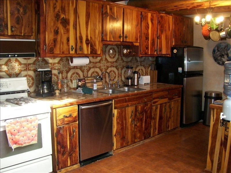 Cedar Cabinets for Outdoor Kitchen | House rental, House, Home