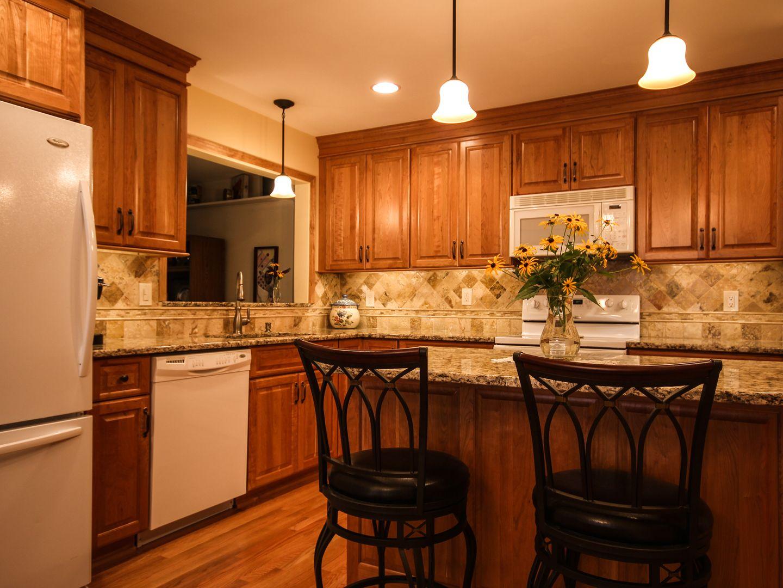Natural cherry my dream kitchen
