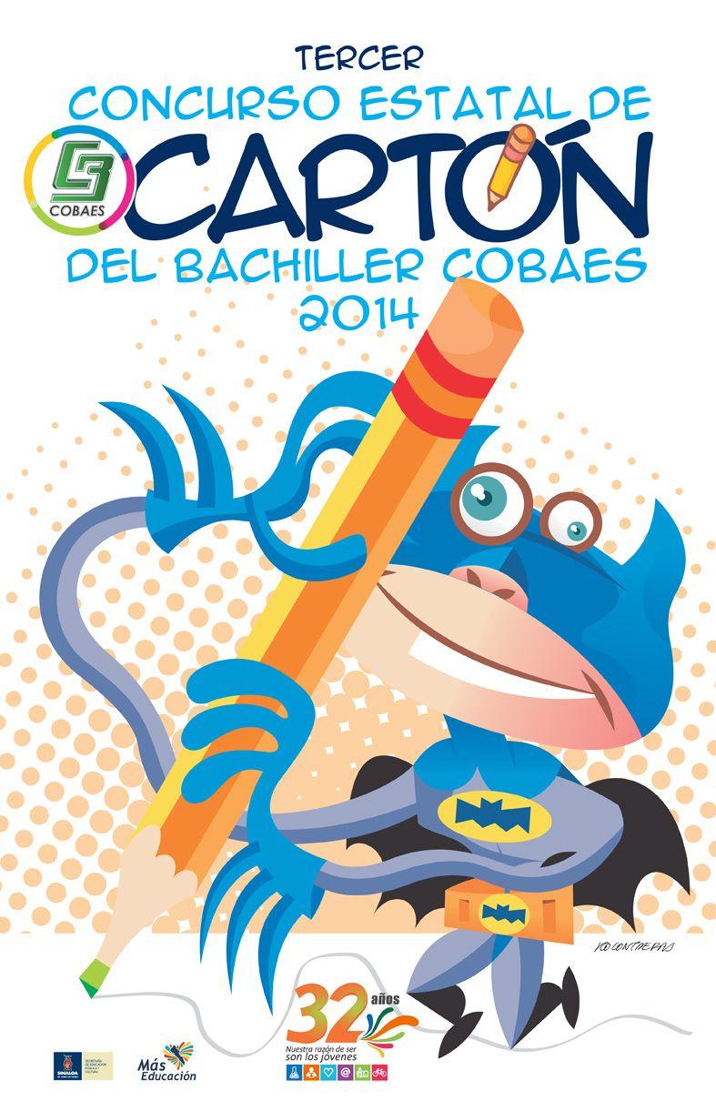 3er. Concurso Estatal del Cartón del Bachiller COBAES 2014 ¡Participa!