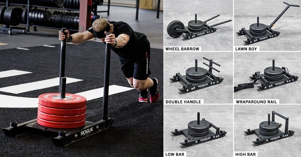 Rogue Dog Sled 1 2 Dog Sledding Diy Gym Equipment Diy Gym