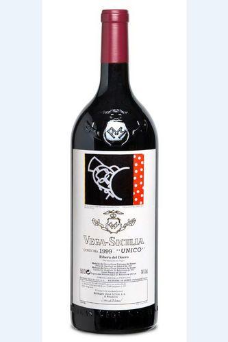 1999 Cosecha bottle of Vega-Sicilia