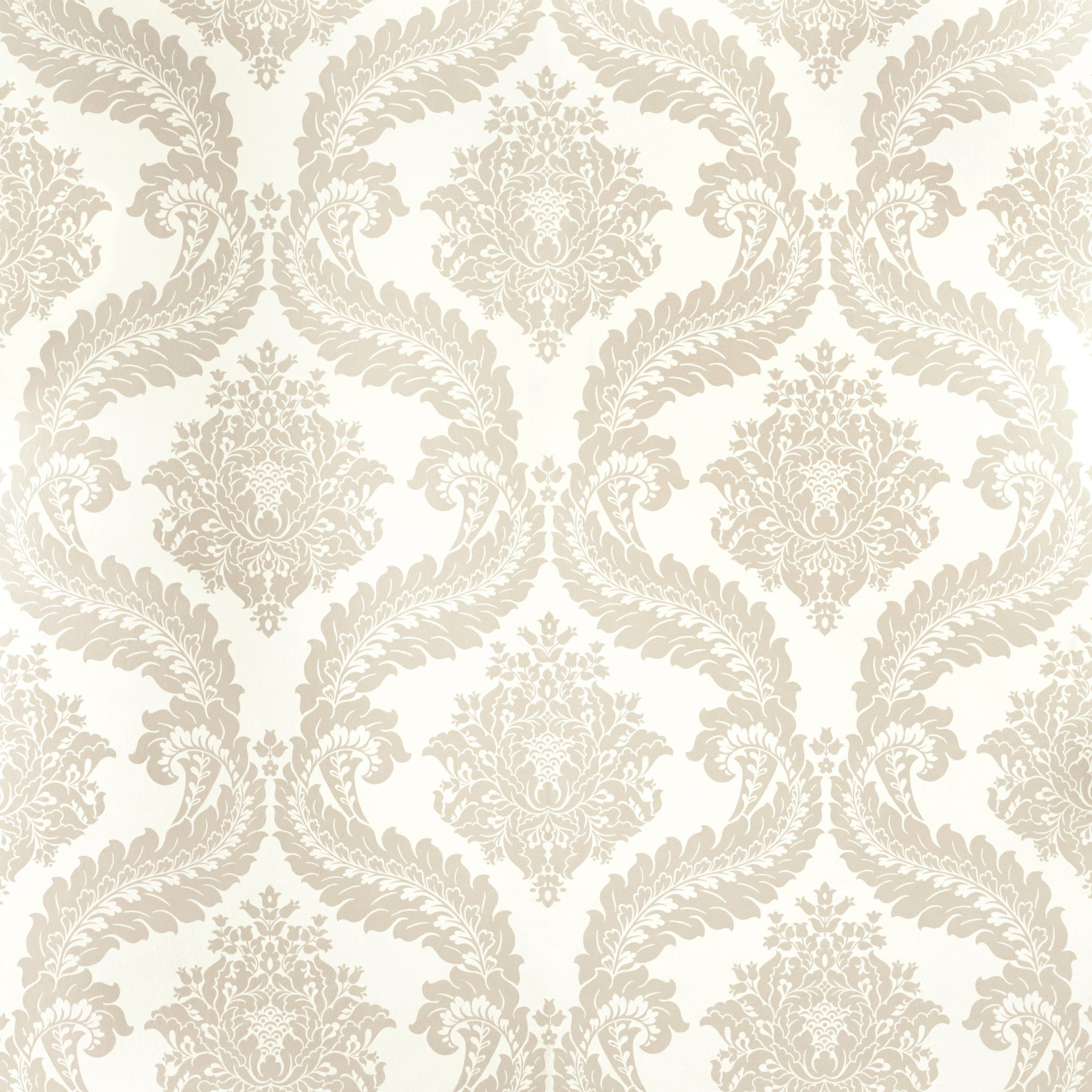 Tetbury Sable Patterned Wallpaper
