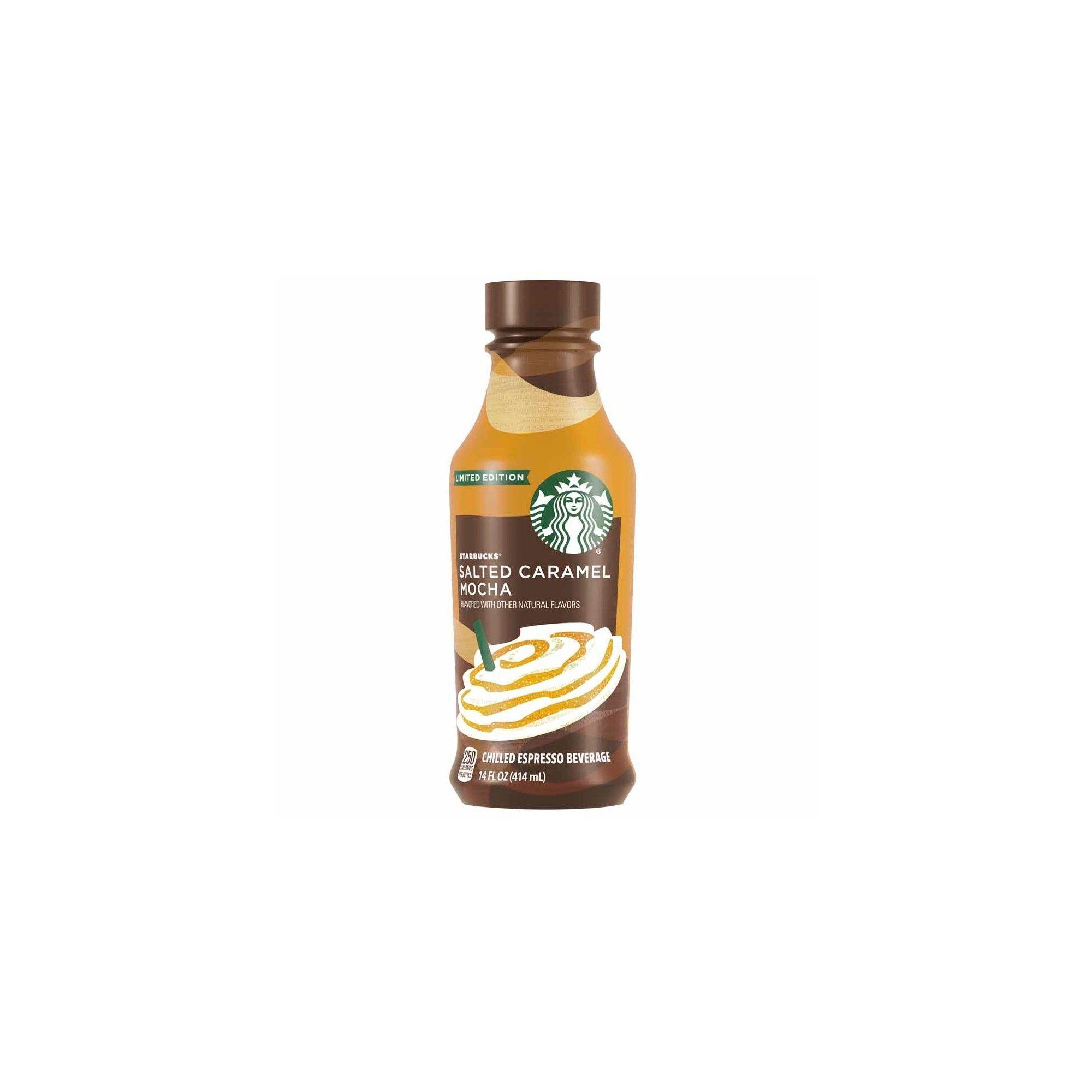 Starbucks Iced Latte Salted Caramel Mocha Limited Time