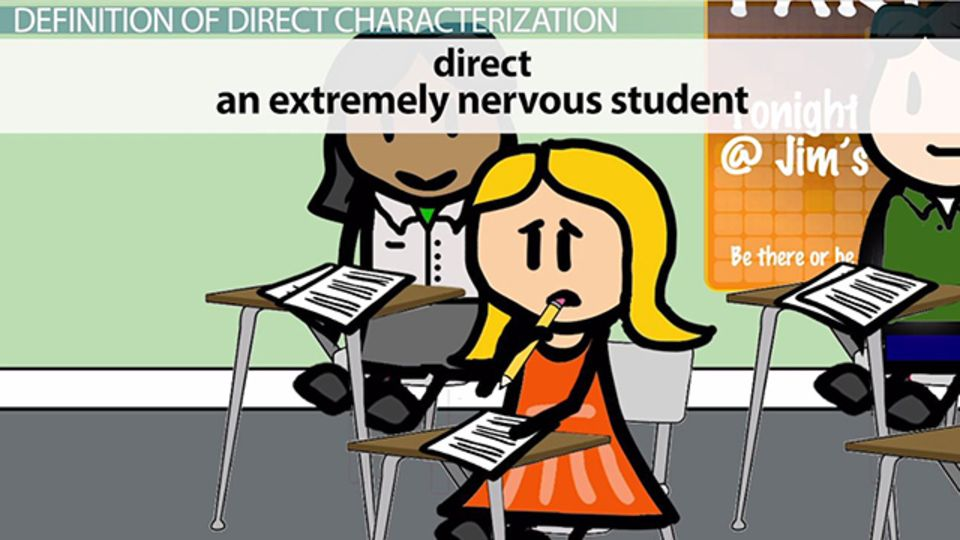 Direct Characterization Definition & Examples Video