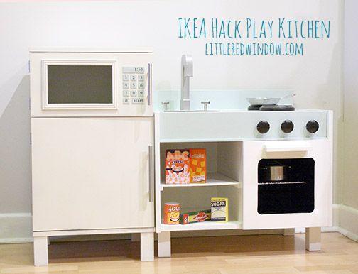 ikea hack cuisini re kids rooms pinterest kinderzimmer k che pimpen und ikea. Black Bedroom Furniture Sets. Home Design Ideas