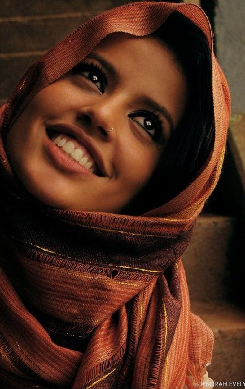 Hijab Fashion Beautiful Smile Beautiful Portrait