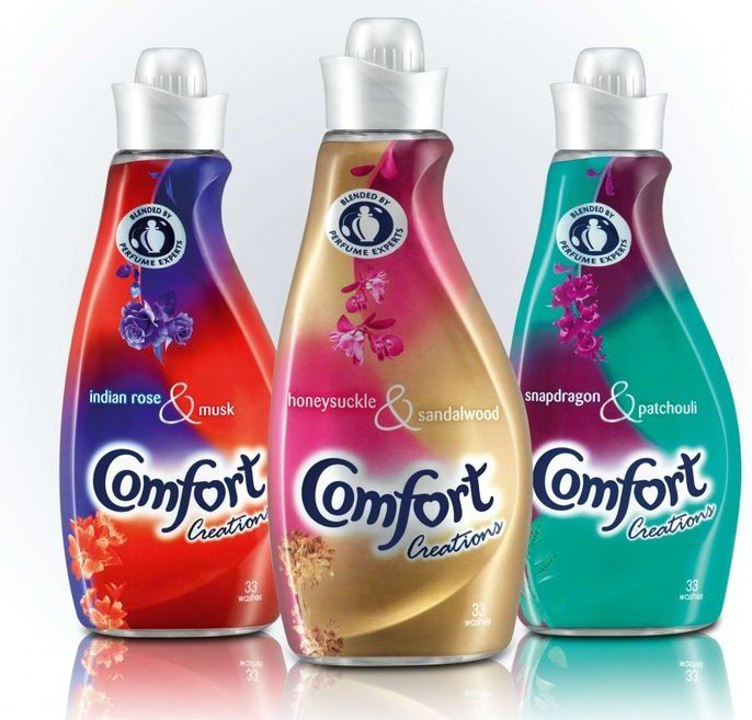 Comfort Creations Fabric Conditioner Packaging Cleaning