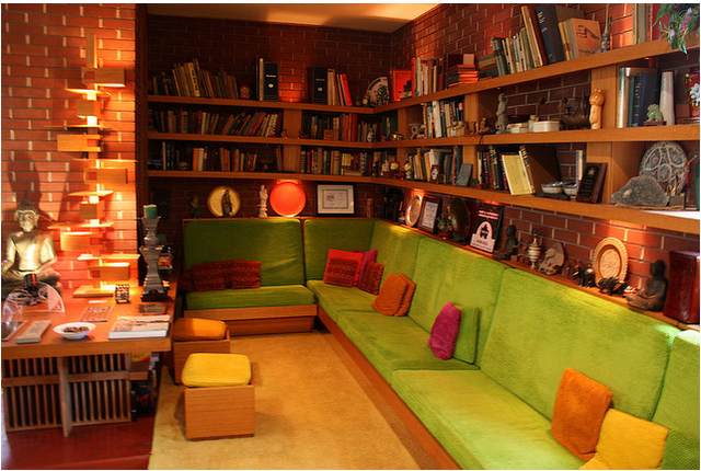Want: colorful den that is still den-like.