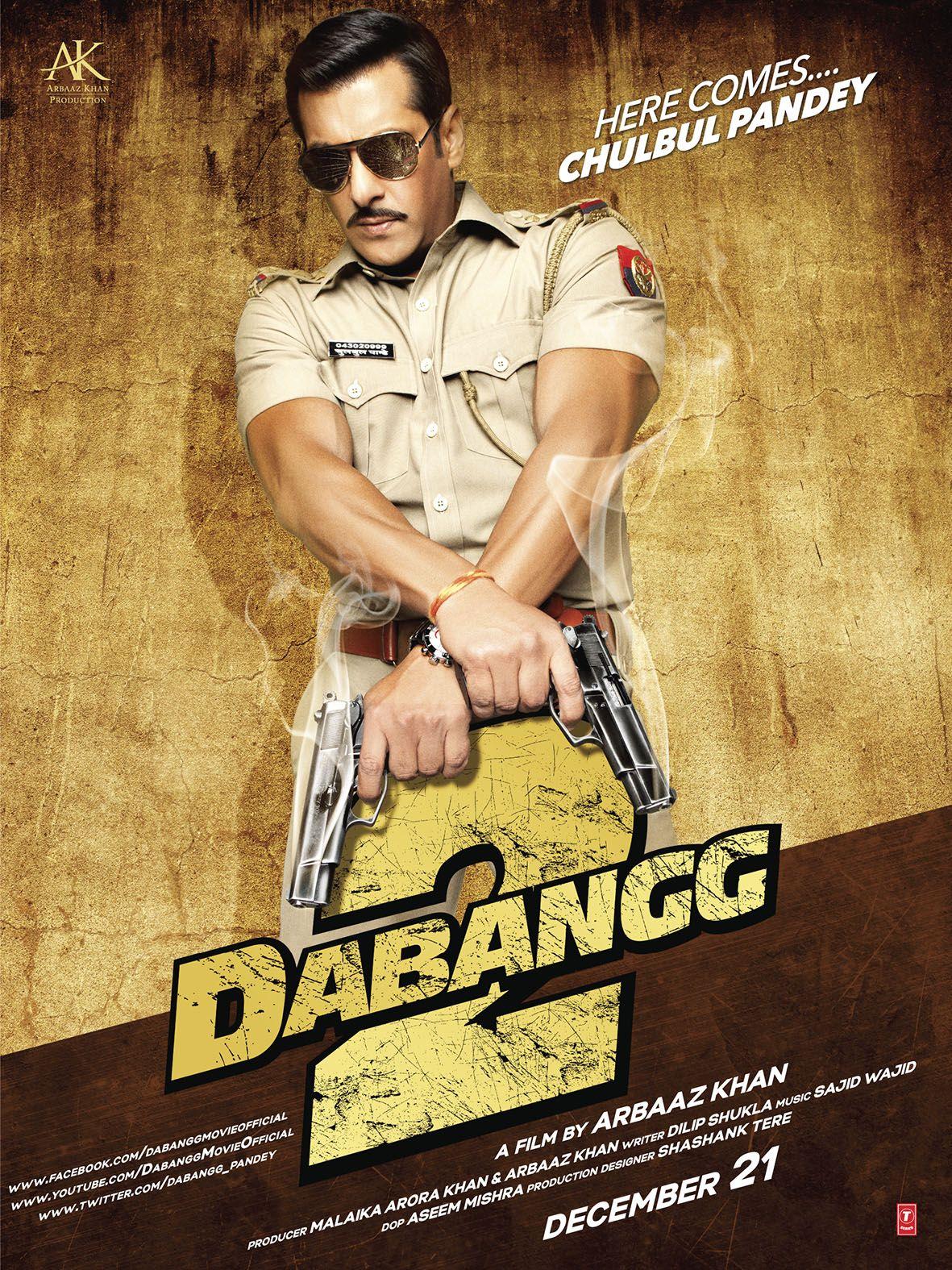 dabangg 2 salman khan hindi movie posters pinterest