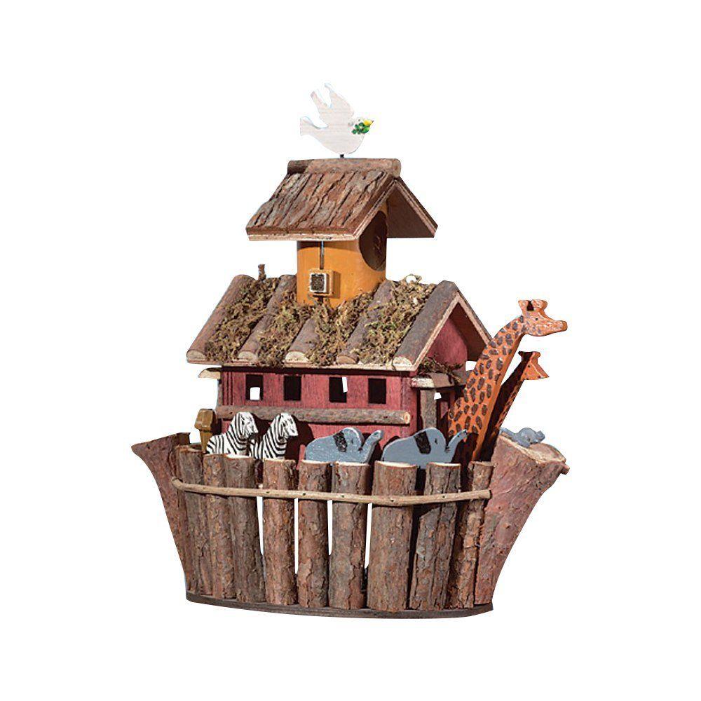Birdhouse noahs ark with images unique bird houses