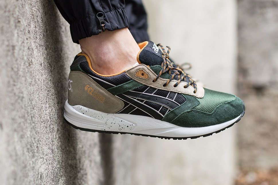 Asics Gel Saga Winter Trail EU Kicks Sneaker Magazine Onitsuka TigerBlack ShoesBlack