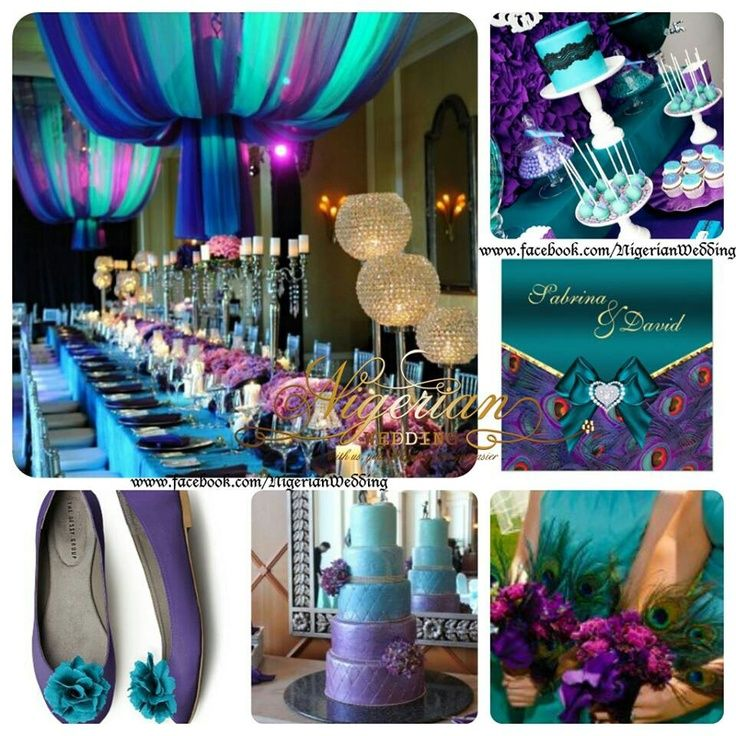 Purple Wedding Colors Combination