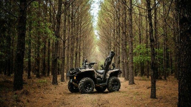 2017 Can-Am Outlander Mossy Oak Hunting Edition 1000R