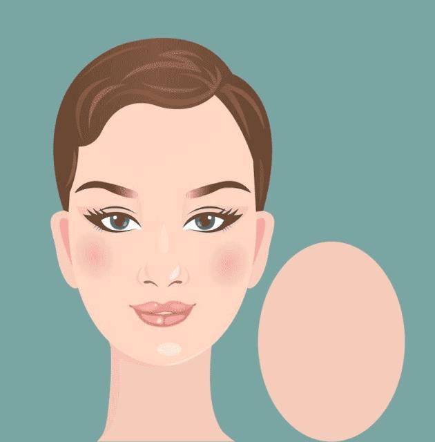بالنسبة للوجه البيضاوي فإنه يتميز بالآتي عرض الجبهة يكون مساوي لعرض الفك طول الوجه يساوي عرض Oval Face Hairstyles Oblong Face Hairstyles Cool Hairstyles