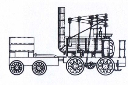 a 'fore and aft' Walking Beam engine diagram from the