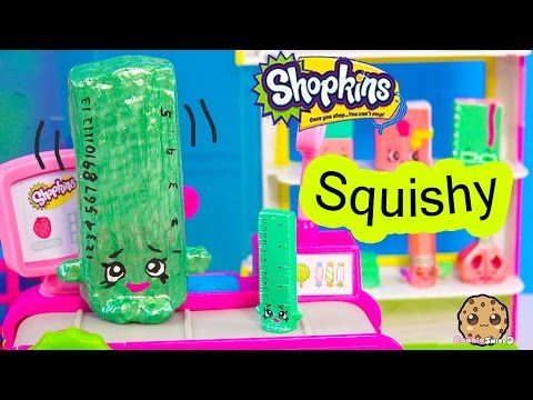 DIY Craft Squishy Shopkins Season 3 Special Edition Rita Ruler Make & Do It Your Self How To Video - YouTube