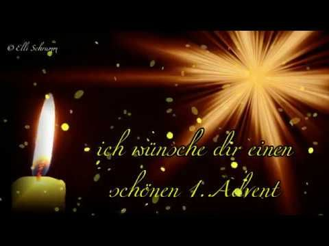 Youtube Schonen Ersten Advent Advents Grusse Schonen 1 Advent