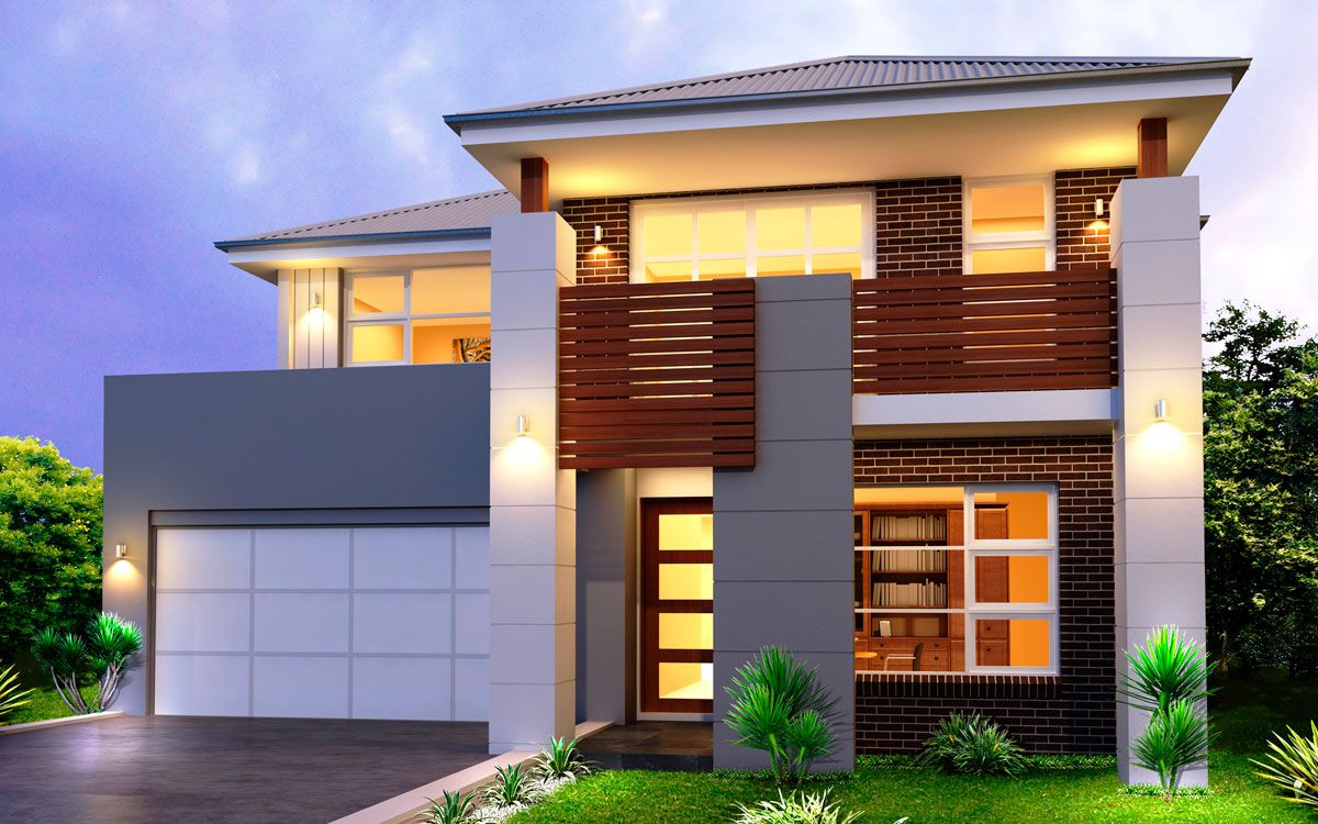 double story home designs sydney