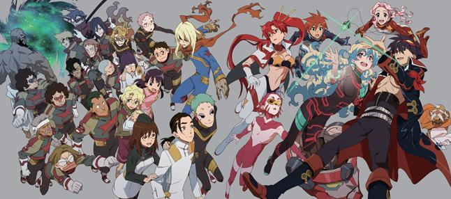 Gurren Lagann II Gurren lagann, Awesome anime, Anime